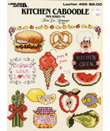CROSS STITCH KITCHEN CABOODLE MINI SERIES #6 - $3.50
