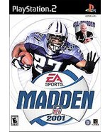 Madden NFL 2001 Sony PlayStation 2, 2000, Football FREE SHIPPING U.S.A. - $6.90