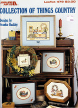 Cross Stitch Collection Of Things Country Drake Hen Decoy - $5.00