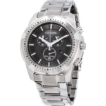 Citizen Men's Eco-Drive Stainless Steel Chronograph Watch AT2260-53E image 1