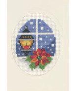Light Christmas Card kit counted cross stitch P... - $9.90