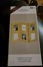 "Brand New Sonoma  Classics Photo Collage Picture Frame. Holds 6 2"" X 3"" ... - $9.89"