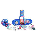 Glamper Fashion Camper Dollhouse LOL Surprise OMG 4-in-1 with 55 Surpris... - $108.89