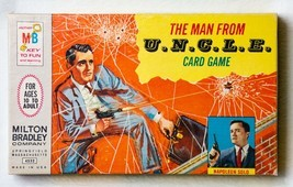 The Man From U.N.C.L.E. Card Game 1965 ~ EXCELLENT! - £28.79 GBP