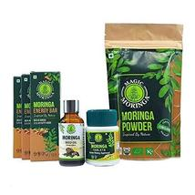 Krishna Organic Moringa Health Combo - Organic Energy Boost, 20+ types of amino  - $53.86