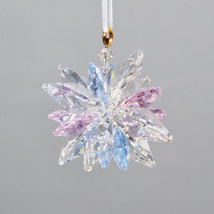 Clear Crystal Snowflake Ornament image 3
