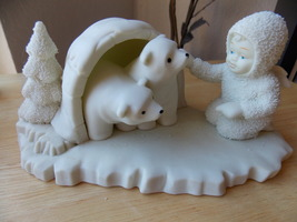 "Dept. 56 Snowbabies Retired ""Look What I Found"" Figurine  - $30.00"