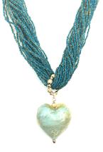 Genuine GINEVA Murano Ca' d 'Oro Amore Rocaille Necklace - $169.95