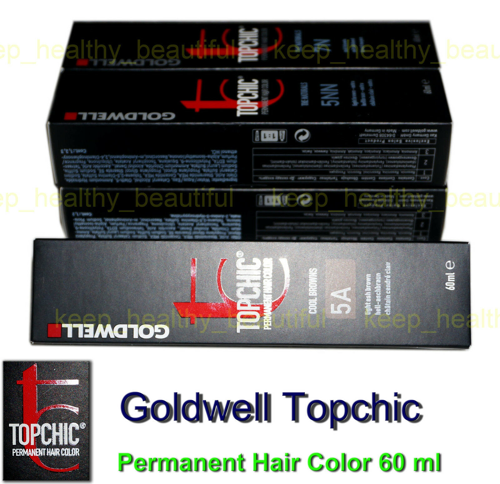 1x Goldwell Topchic Permanent Hair Color 60 ml Registered post - $7.90