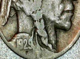 Buffalo Nickel 1927, 1928 and 1929 AA20BN-CN6078 image 5