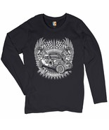Shake Rattle and Roll Women's Long Sleeve T-shirt Old School Vintage Hot... - $14.85+