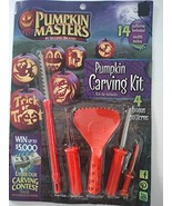 Pumpkin Masters America's Favorite 19 Piece Pumpkin Carving Kit with 14 ... - $2.99