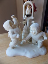 "Dept. 56 1995 Snowbabies Retired ""Ring The Bells…It's Christmas"" Figurine  - $50.00"