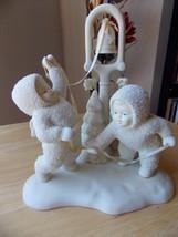 "Dept. 56 1995 Snowbabies Retired ""Ring The Bells…It's Christmas"" Figurine  - $50.00"