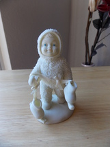 "Dept. 56 Snowbabies ""Let's Go Ice Skating"" Figurine  - $18.00"