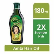 Vatika Indian Gooseberry Natural Organic Dabur Amla Oil for Hair Growth - 180 ml - $11.87