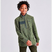 Adidas Micro Fleece 1/2 Zipper Size Large (14/16) Sweatshirt Retails For - $29.96
