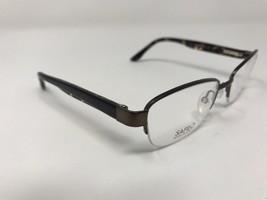 Safilo Italian Made Half Rimless Demolens Eyeglasses Tortoise Sa6038 DD16 - $46.74