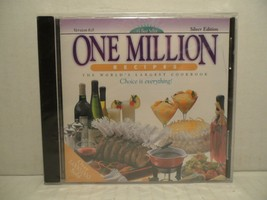 One Million Recipes The World's Largest Cookbook Version 6.0 Silver Edition CD-R - $19.69