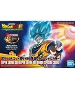 Bandai Figure-Rise Dragonball Super Saiyan God SS Son Goku Model Kit Sta... - $28.48