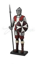 MALTESE KNIGHT HOLDING PIKE AND ROUND SHIELD VERONESE  (WU77131AA) - $76.23