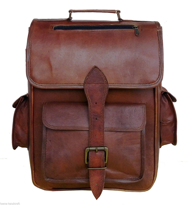 fc0b635ab091 Leather Backpack Rucksack Vintage Bag and 50 similar items