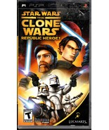 Playstation Portable - Star Wars The Clone Wars - Republic Heroes - PSP - $20.00