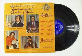 Introduction To Instrumental Arabic Music Arab Tunes LP 512 Vinyl LP - $9.00