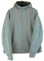Tommy Hilfiger Mens Grey Sherpa Lined Hooded Soft Shell Jacket Coat XXL - $89.99