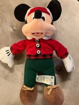 "NWT MICKEY MOUSE HOLIDAY 2018 PLUSH ANIMAL TOY 16"" - $29.99"
