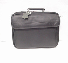 Laptop Computer Black Leather carrying case - $49.99