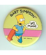 Bart Simpson Yo Man - $1.95
