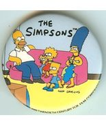 The Simpsons On The Couch Pin - $1.99