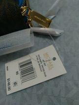 Michael Kors Signature Jet Set Large Double Zip Wristlet - Vintage Blue image 12