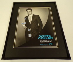 White Collar 2012 USA 11x14 Framed ORIGINAL Advertisement Matt Bomer - $22.55
