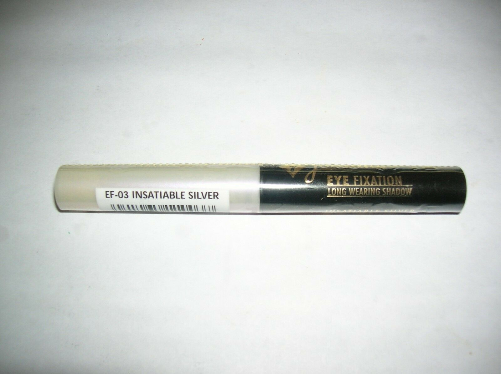 Primary image for Jordana Eye Fixation Long Wearing Shadow EF-03 Insatiable Silver