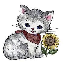 Nature Weaved in Threads, Amazing Baby Bird Kingdom [Kitty with Sunflower ][Cust - $11.87
