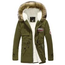 Danjeaner New Winter Jacket Fur Collar Men'S Down Jacket Cotton-padded C... - $65.17