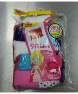 Hanes Girls' Hipsters 9 Pack Tagless,100% Cotton, Size 14 new - $10.44