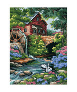"Dimensions Needlepoint Kit 12""X16""-Old Mill Stitched In Thread - $32.89"