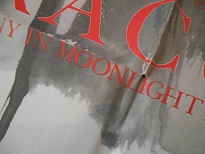 Old Vintage 1986 Poster Marvel John J Muth Dracula Symphony Moonlight Nightmares