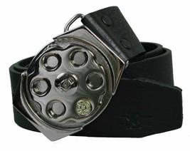 Billionaire Mafia Black Spinner Plaque Belt