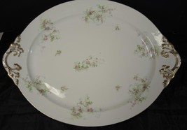 "Antique Limoges Wm Guerin 18"" Oval Platter * Pi... - $66.48"