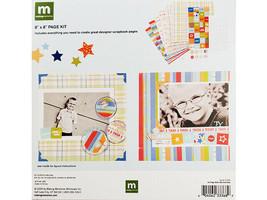 """Making Memories Little Kids 8""""x8"""" Page Kit, Scrapbooking & Card Making image 2"""