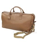 BOTTEGA VENETA Intrecciato Leather Brown Boston Bag 152229 Authentic 536... - $1,355.08