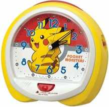 Pokemon Pikachu Analog Alarm Clock Cute Gift Talking alarm - $64.52