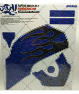 AMR Racing Graphics Kit Sale For Yamaha RAPTOR 660R 01-05 DIAMOND FLAME ... - $118.75