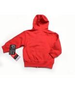 NWT NEW REEBOK Face Off Detroit Redwing Hooded Full Zip SWEATSHIRT Size 3T - $29.12