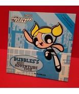 Powerpuff Girls Hardcover Book Bubbles Best Adventure Ever Fiction Story... - $7.59