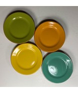 """Bobby Flay Colorful Plancha Dessert Plates 5 7/8"""" Portugal // Assorted C... - $19.79"""